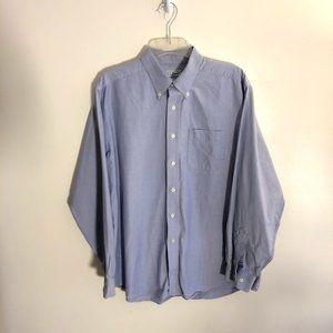LL Bean Button Down Pima Cotton Shirt Men's Large